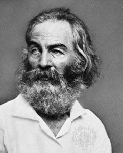 a biography of walt whitman a famous american poet - walt whitman is a famous poet in american history and the founder of free style of writing poem he was well-known with his work of leaves of grass and drum-taps walt whitman was inspired to write poems about civil war and changed his style of writing after experiencing the horrible result of the war.